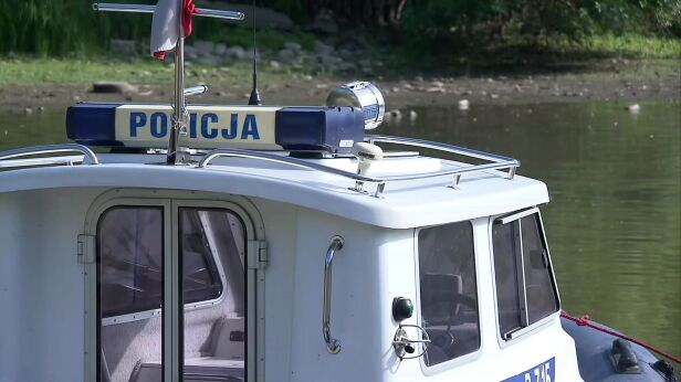 Akcja policji rzecznej (zdjęcie ilustracyjne) archiwum TVN24