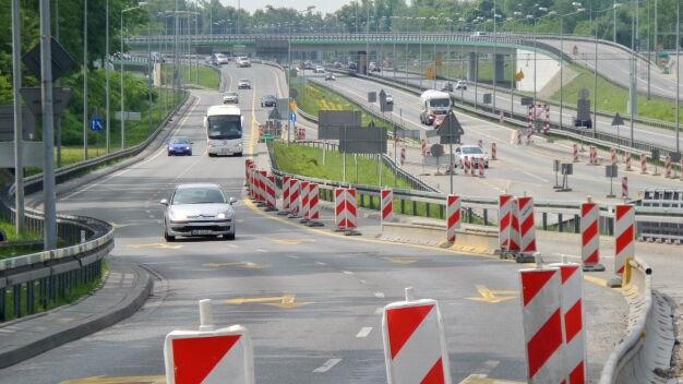 Zmiany na budowie Trasy AK: zamkną wjazd na Powązkowską