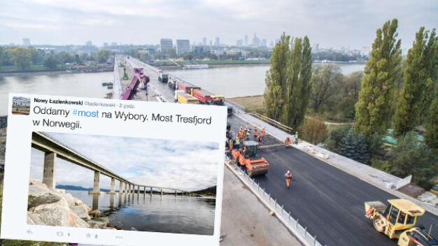 Wykonawca mostu Łazienkowskiego: otwieramy na wybory... w Norwegii