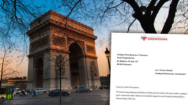 Tak wygląda łuk w Paryżu. Jaki będzie warszawski? Shutterstock