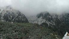 W Tatrach leży śnieg