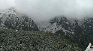 W Tatrach leży śnieg (System Monitoringu Pogody TOPR)