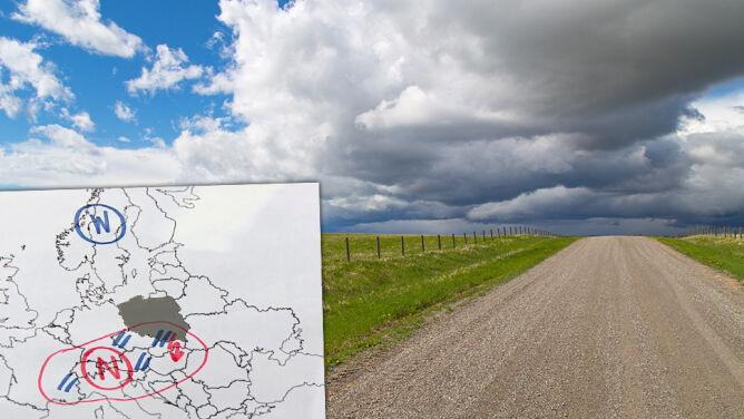 """""""Pogodą dowodzą dwa ośrodki"""". IMGW ostrzega przed burzami z gradem"""